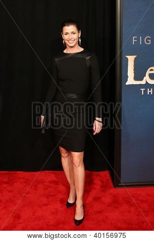 """NEW YORK-DEC 10: Actress Bridget Moynahan attends the premiere of """"Les Miserables"""" at the Ziegfeld Theatre on December 10, 2012 in New York City."""