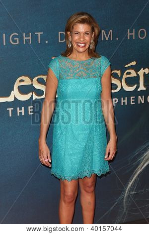 "NEW YORK-DEC 10: TV personality Hoda Kotb attends the premiere of ""Les Miserables"" at the Ziegfeld Theatre on December 10, 2012 in New York City."