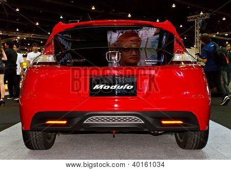 Honda Cr-z's traseiro