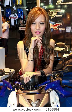 Female Presenter Of Yamaha