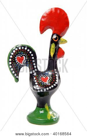 Luck rooster from Barcelos - Unofficial Legend symbol of Portugal.