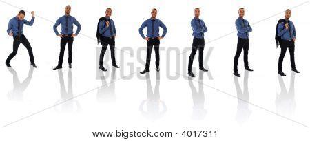 African Businessman Clone