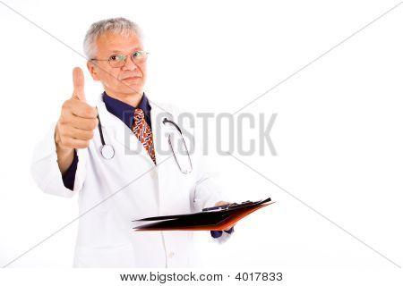 Médico de hombre