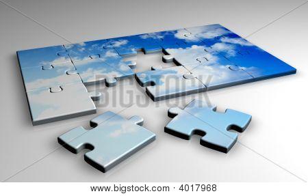 Jigsaw Clouds