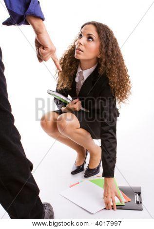 Mobbing-Harassment