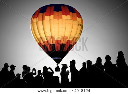People And Balloons