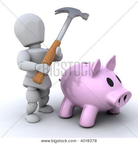 Smash The Piggy Bankq