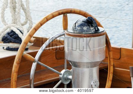 Rudder And Compass