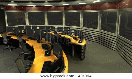 Sala de vigilância