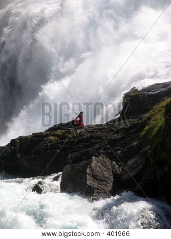A Woman Who, According To Legend, Commited Suicide In Despair By Jumping Into A Waterfall  - Waterfa