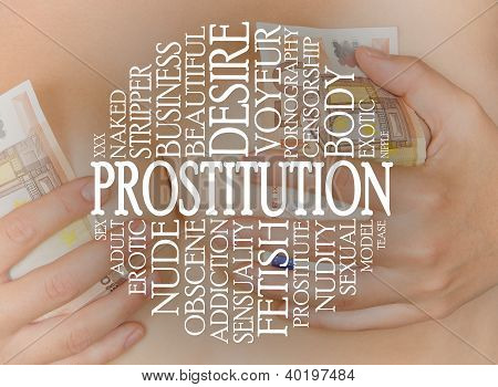 Prostitution-Cloud-Konzept
