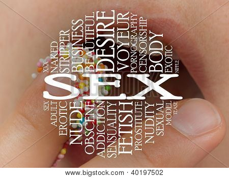 Sex Cloud Concept