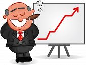 stock photo of caricatures  - Businessman - JPG