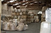 Warehouse Full Of Wool
