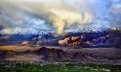 image of jammu kashmir  - Leh, Ladakh, Jammu and Kashmir, India.