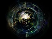 stock photo of time machine  - Clockwork Series - JPG