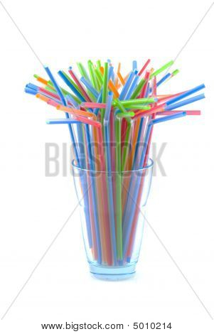 Colorful Straws.