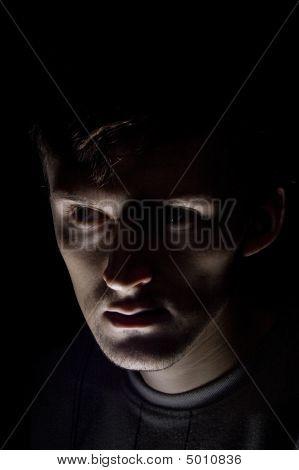 Gloomy Caucasian Men