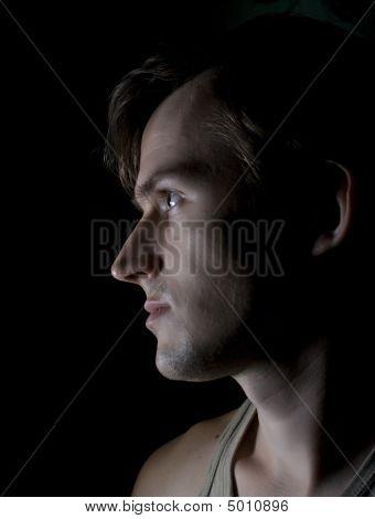 Portrait Of The Gloomy Men