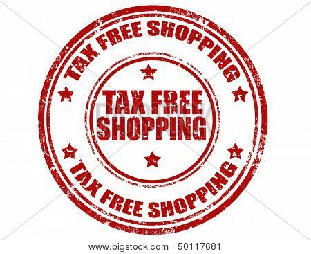 Tax Free Shopping-stamp