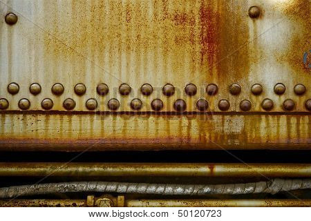 Rusty Industrial Background