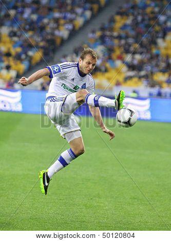 Oleg Gusev Of  Fc Dynamo Kyiv