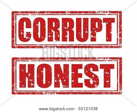 Corrupt-honest