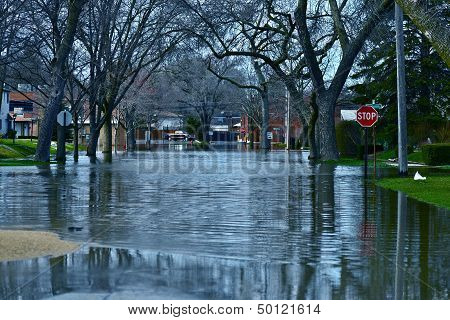 Deep Flood Water
