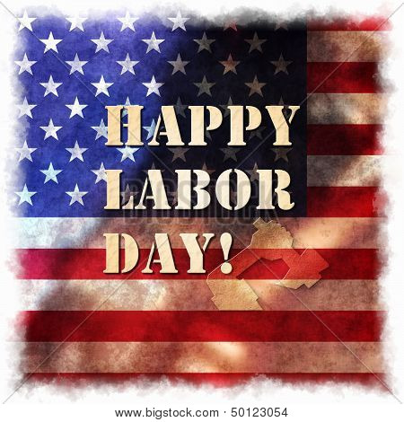Happy Labor day american