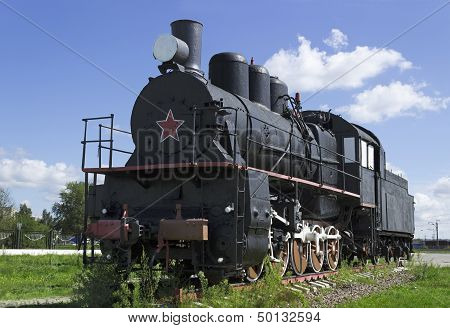Soviet Steam Locomotive 30S