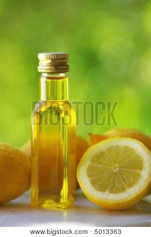 Lemons And Olive Oil.