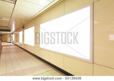 Blank Advertising Billboards