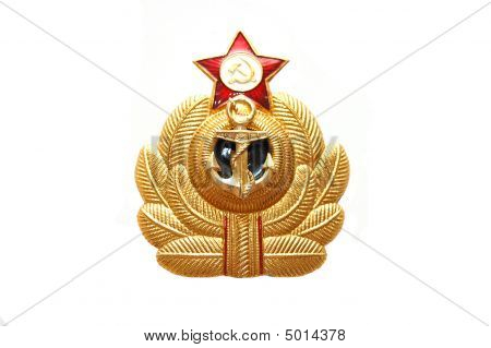 Symbol Of The Soviet Marine Sea Fleet