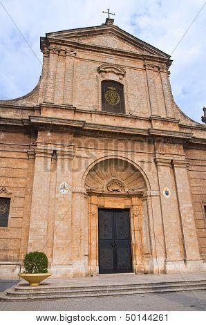 Mother Church. San Vito dei Normanni. Puglia. Italy.