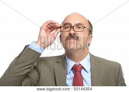 The Businessman In Spectacles