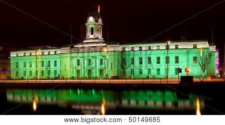 Cork City Hall - St. Patrick's Day
