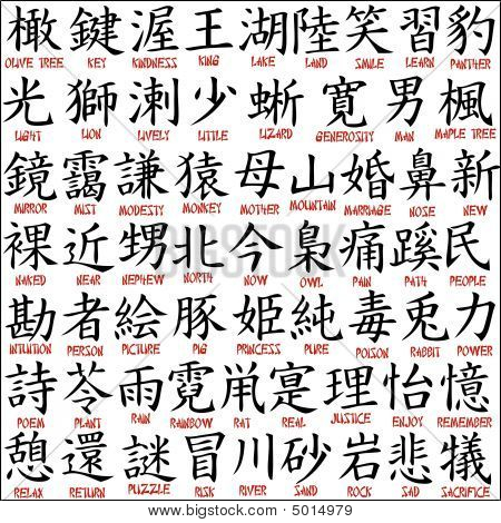 chinese symbols and meanings for family want Would be use a wild animal