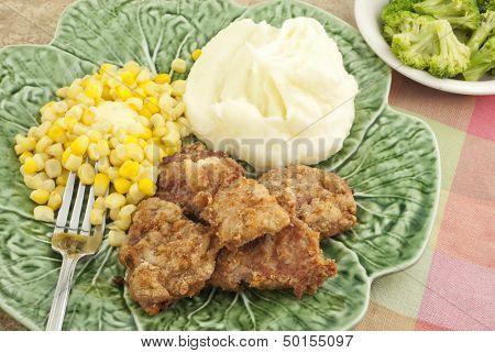Pork Tenderloin And Vegetables Meal