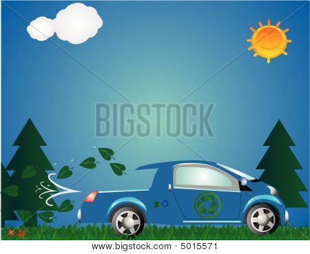 Green Environmental Truck
