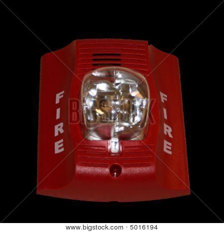 GRÁFICO de la alarma de incendio