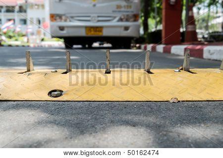 Traffic Control Barrier