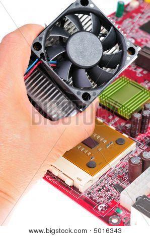 Installing Cooling Fan