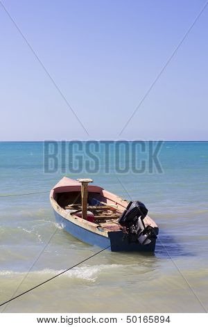 jamaican fishing boat