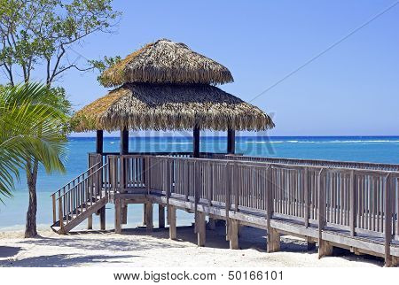 beach luxury gazebo