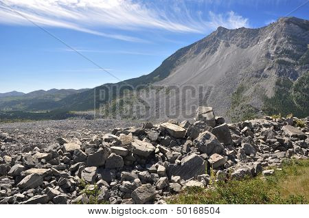 Frank Slide Disaster in Alberta