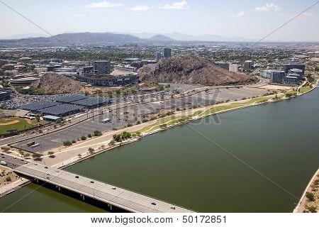 Future Lake Front Development In The Desert