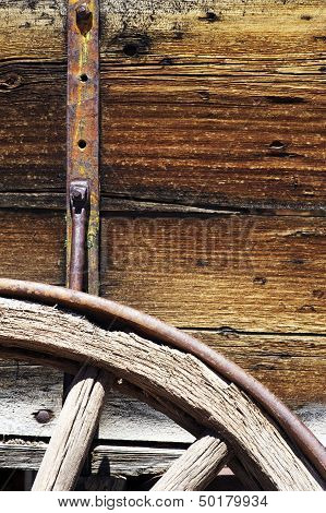 Wooden Wagon Details