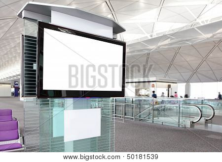 Lcd Tv At Airport