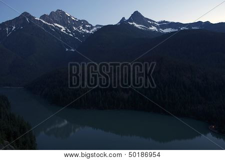 Evening At Diablo Lake