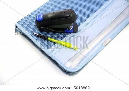 Case Stapler And Pen